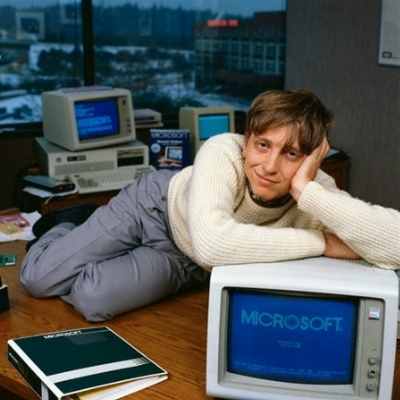 Dreamy Bill Gates Meme Template Thumbnail