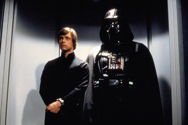 Luke Skywalker + Darth Vader Meme Template Thumbnail