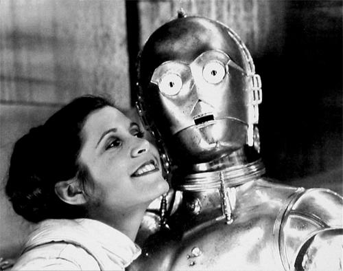 Princess Leia + C3PO
